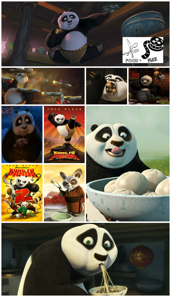 I'm hosting Food 'n Flix this month w/ my pick - Kung Fu Panda