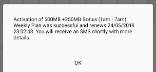 How to get free 750mb data from Flaim app