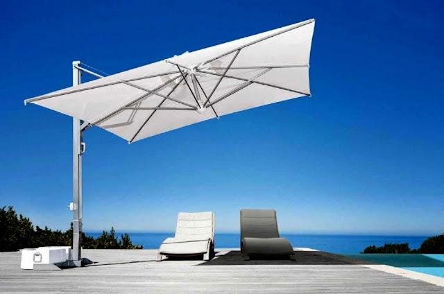 balkon geländerhalterung für sonnenschirme