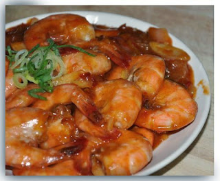 Sweet spicy sour shrimp recipe