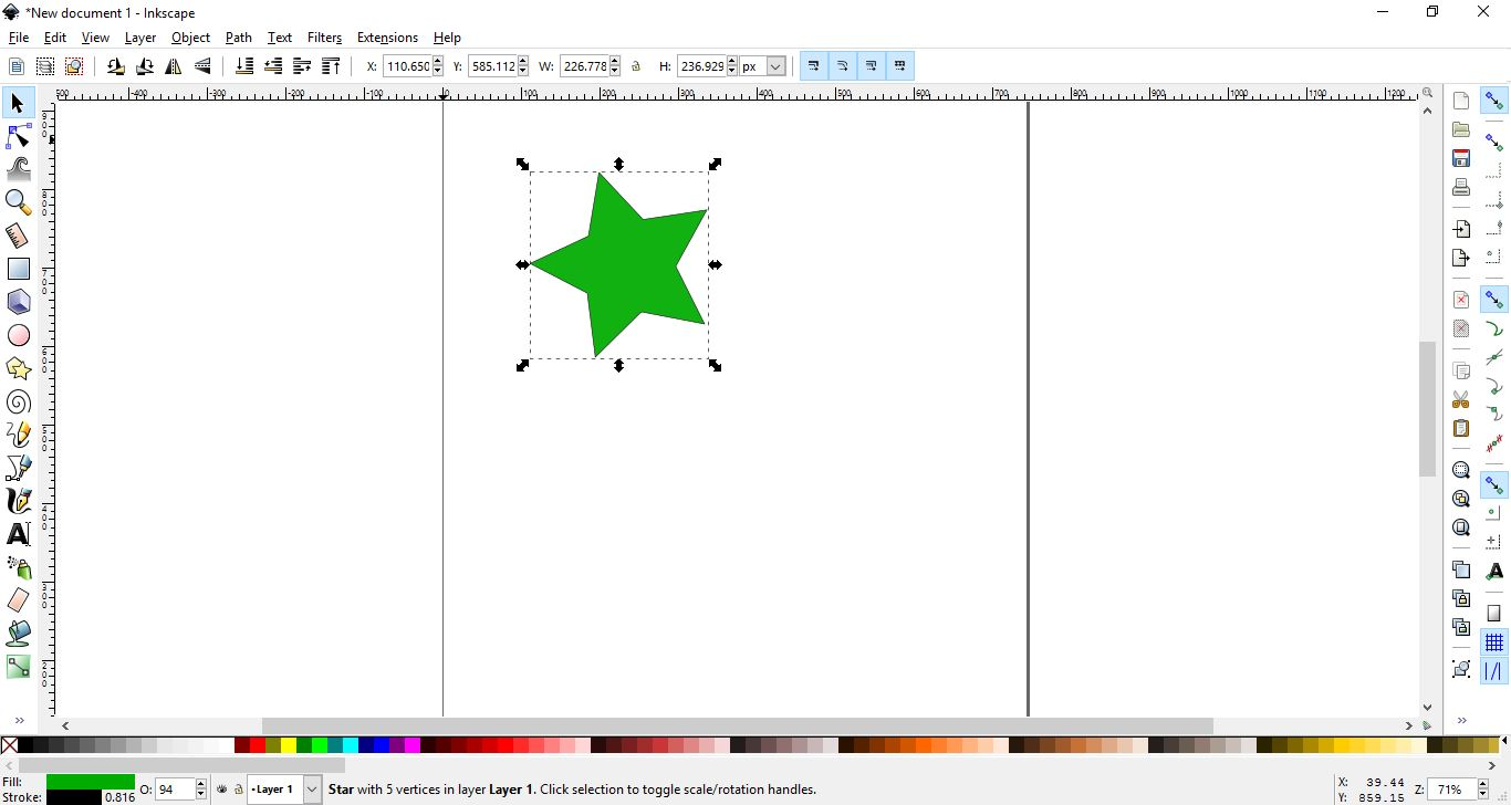 How to use the clone tool in inkscape design bundles 2 import your image or create your shape ccuart Choice Image
