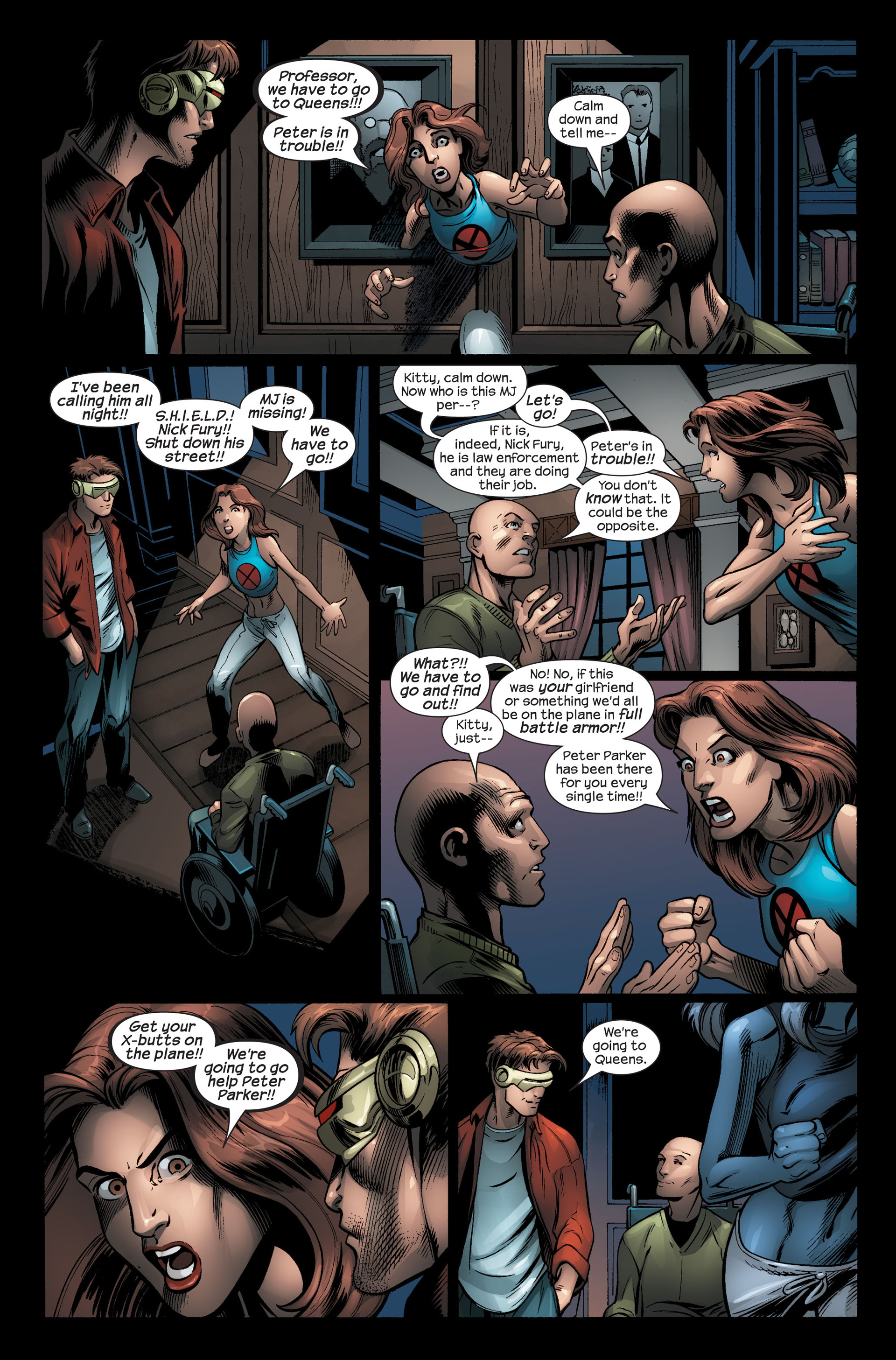 Read online Ultimate Spider-Man (2000) comic -  Issue #103 - 4