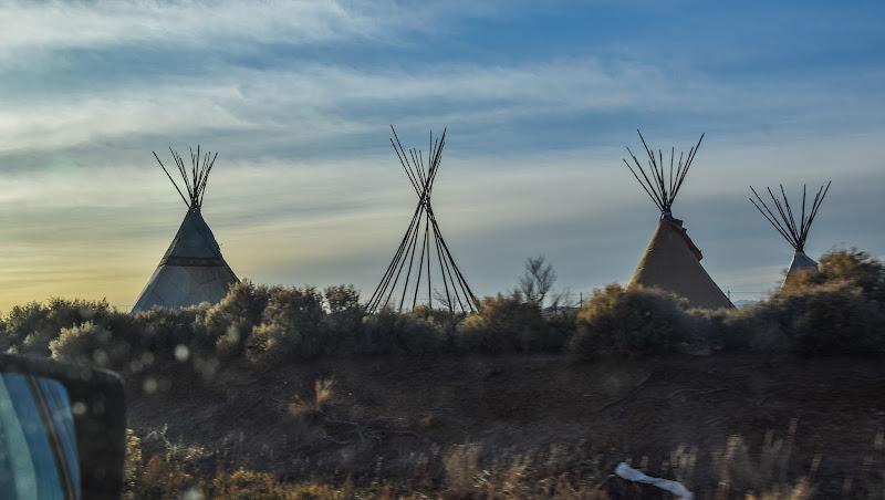 Tipis en Taos