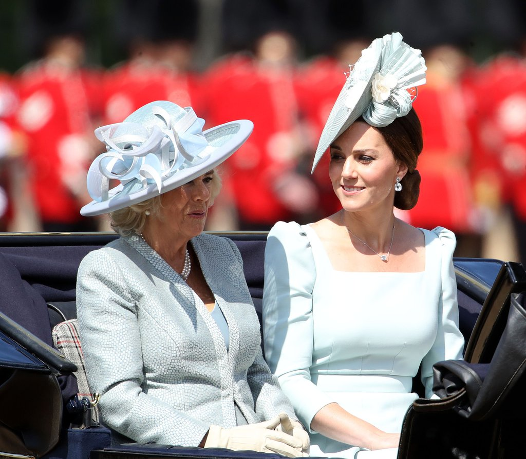 Trooping The Colour 2018 Kate Middleton e Camilla Parker Bowles