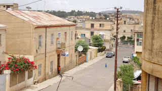 People have a comfort living in the capital of Eritrea