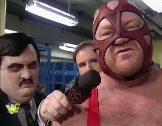 WWF / WWE - In Your House 13: Final Four - Kevin Kelly interviewed Vader & Paul Bearer