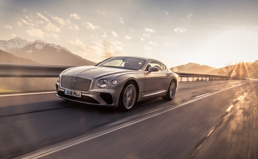 Bentley Continental GT named 2019 Middle East Car of the Year