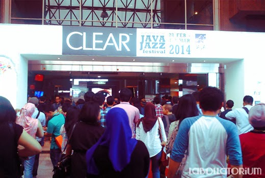 International Java Jazz Festival 2014 Suasana di Event Gate Masuk