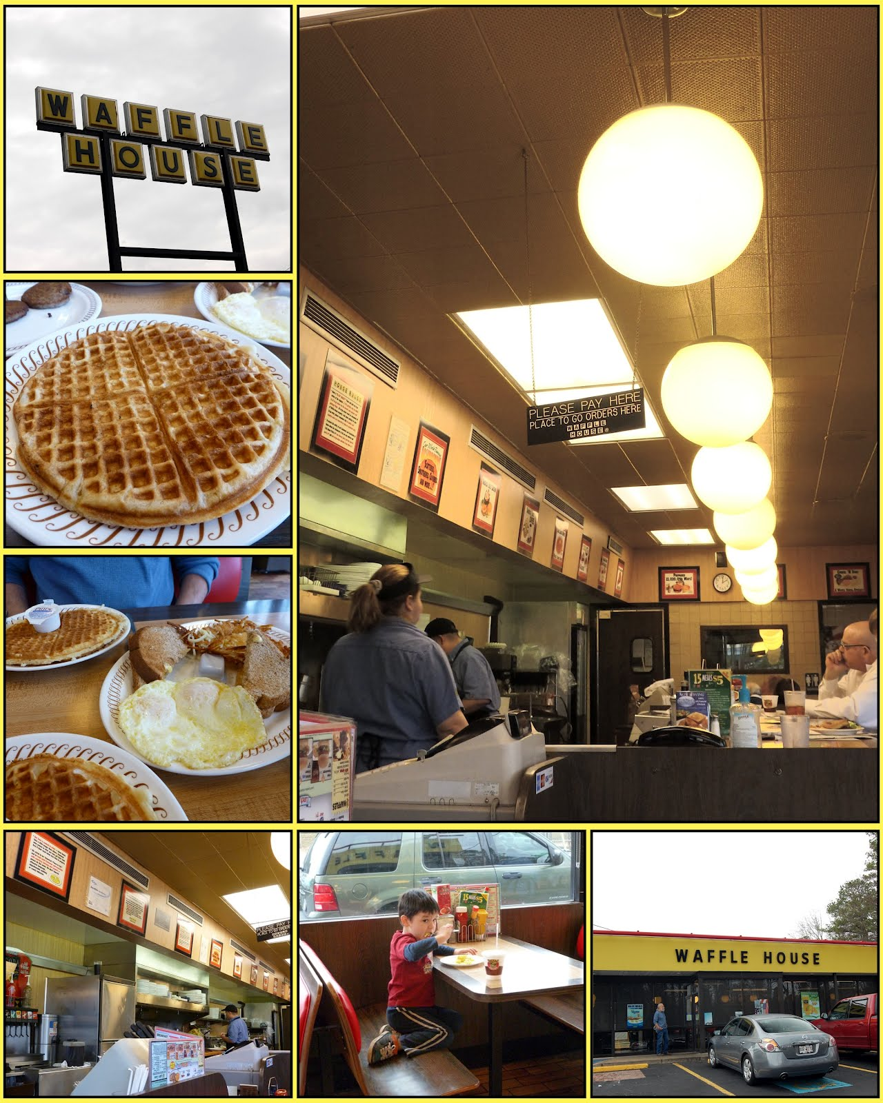 Recollections Of A Vagabonde: The Original Waffle House