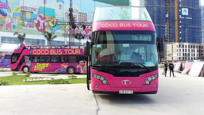 Central city in Vietnam begins open-top bus tours