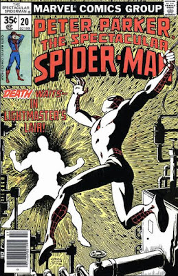Spectacular Spider-Man #20, the Lightmaster