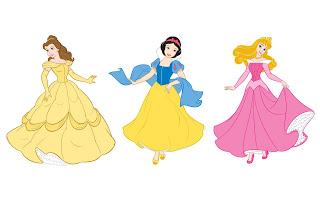 Princesas da Disney Vetor Png