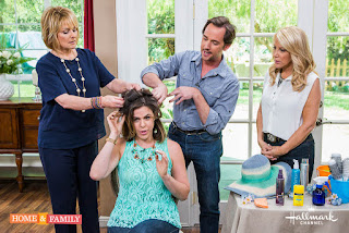 Billy Lowe on Home and Family sharing how to get gorgeous hair