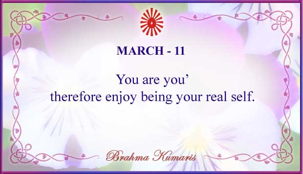 Thought For The Day March 11