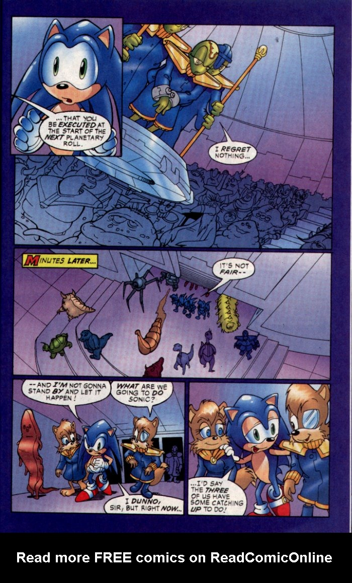 Read online Sonic The Hedgehog comic -  Issue #129 - 18