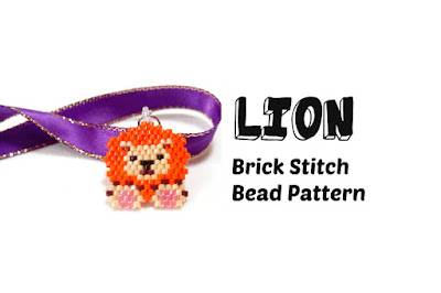 Click here for more info about this seed bead Lion pattern.