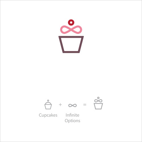 Logo Example - Cupcake Infinite