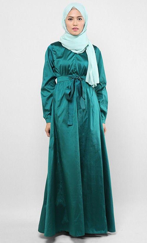 Baju Gamis Elegan Simple Hijab Nemo