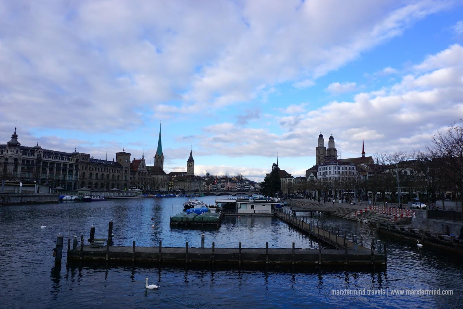 Layover in Zurich