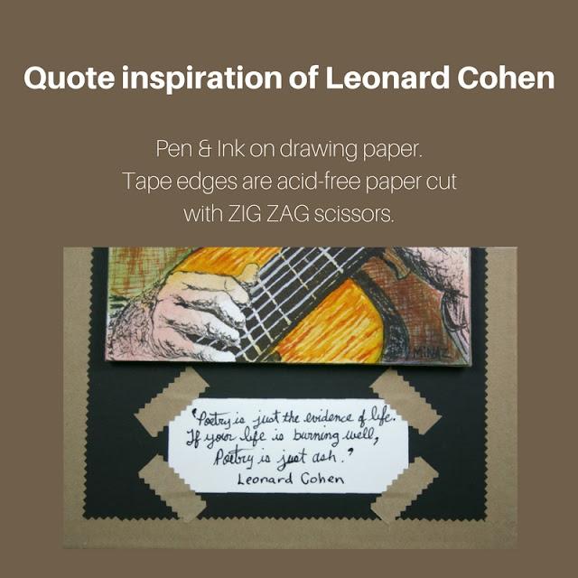 Quote of Leonard Cohen