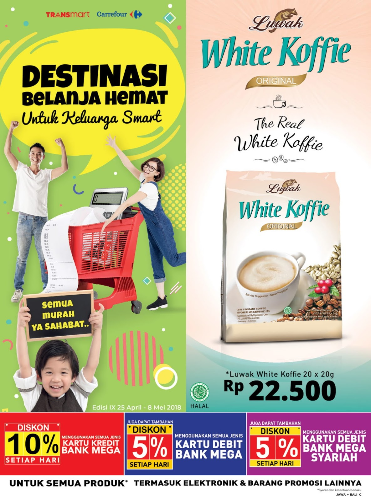 Katalog Promo Carrefour Terbaru Periode 25 April 08 Mei 2018 Voucher Carefur