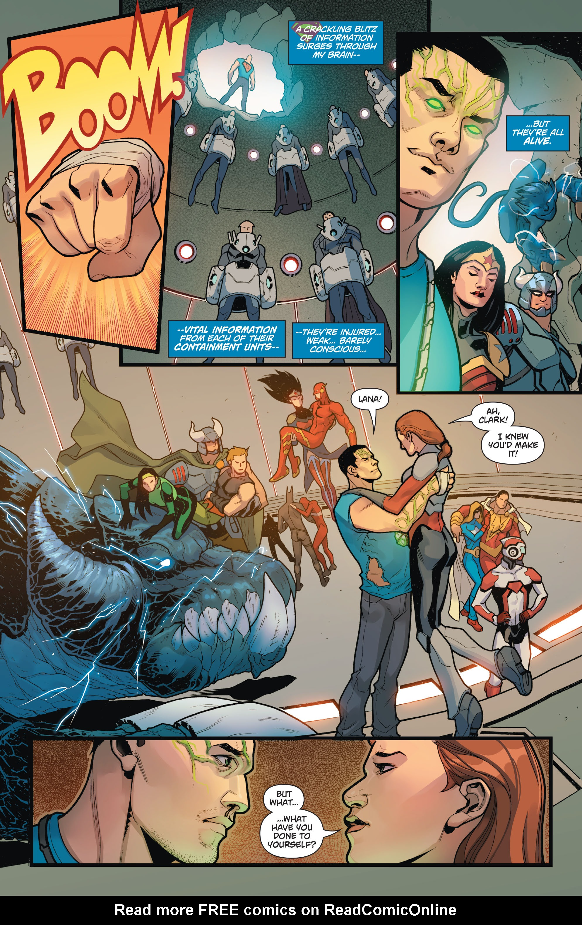 Read online Action Comics (2011) comic -  Issue #50 - 21