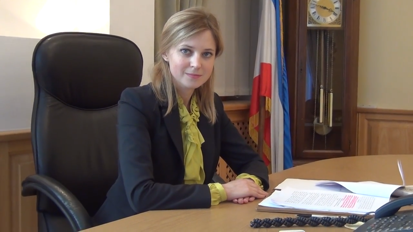 Natalya Poklonskaya can become a competitor of Irina Yarovaya 05.08.2015 56