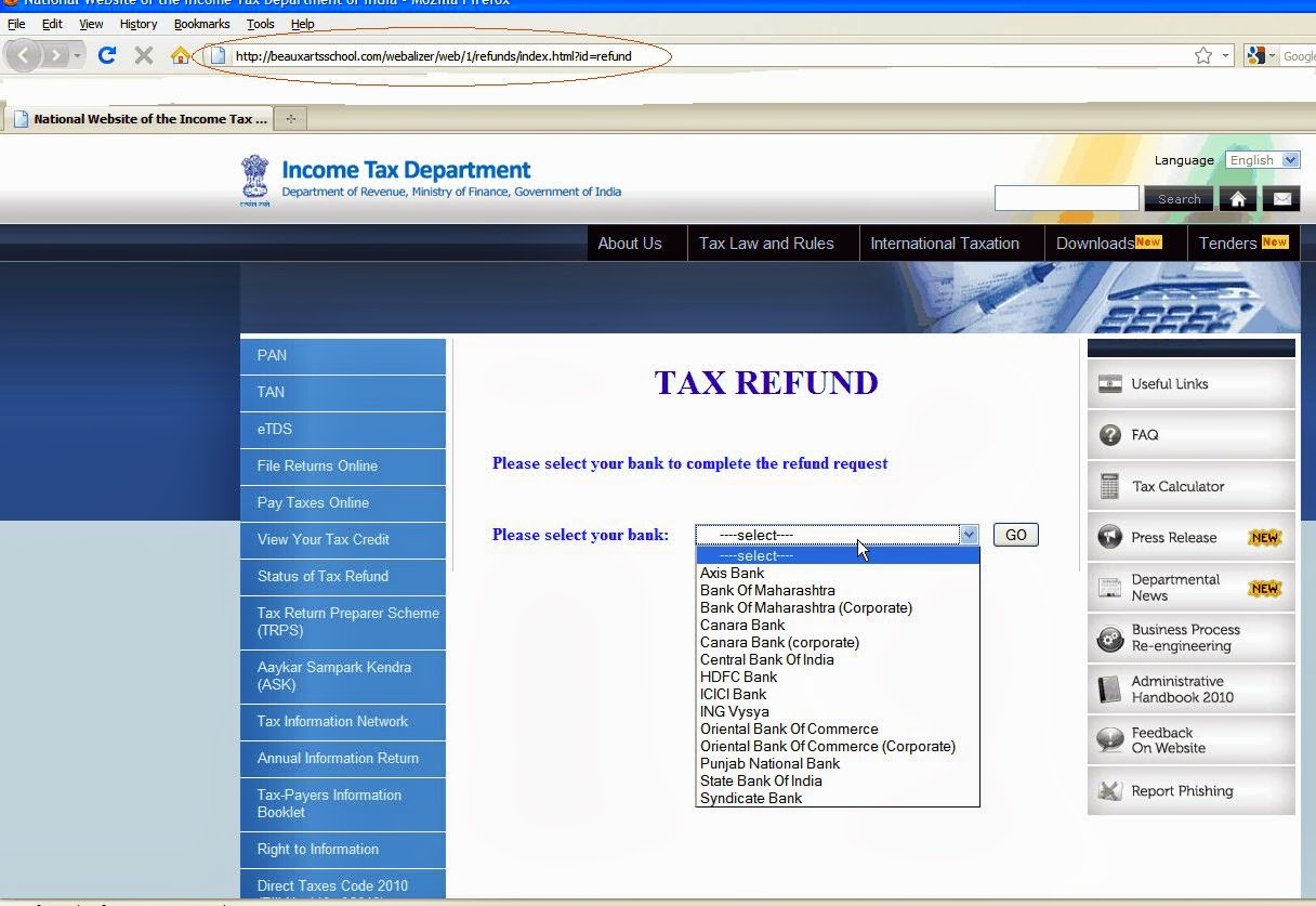 Tax Refund Income Tax Refund Updates