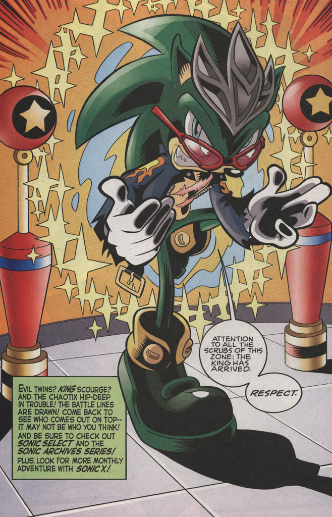 Read online Sonic The Hedgehog comic -  Issue #189 - 32