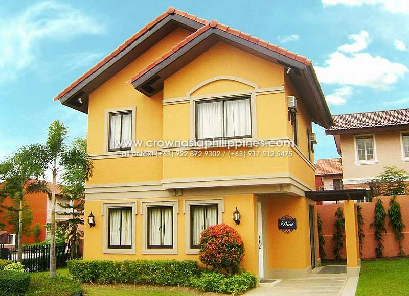 Ponticelli - Pearl| Crown Asia Prime House for Sale in Daang Hari Bacoor Cavite