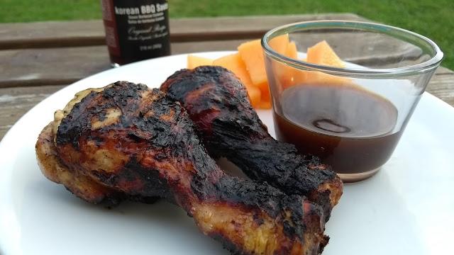Poulet à la sauce barbecue