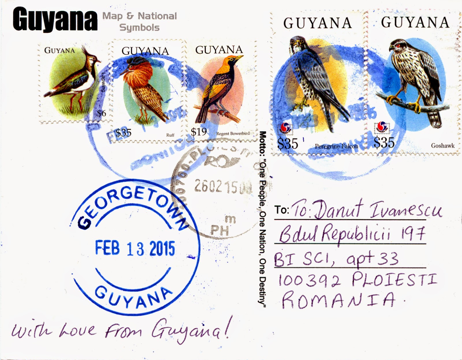 world come to my home 1022 1472 guyana the map and the flag