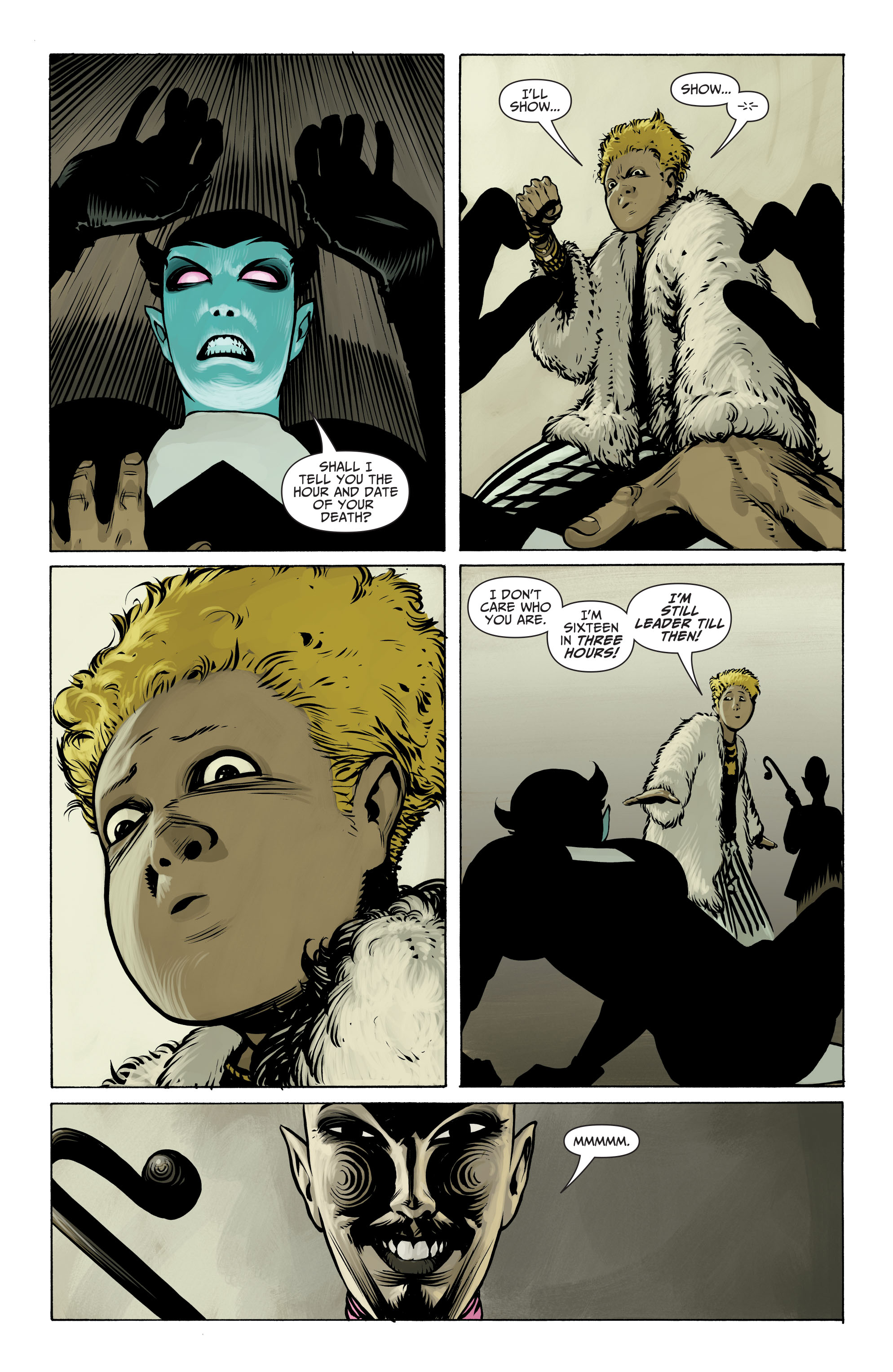 Read online Seven Soldiers: Klarion the Witch Boy comic -  Issue #3 - 16