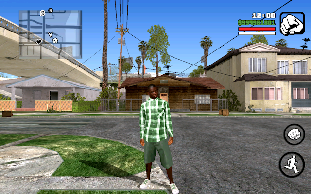 new grove street member mod V2 Mod Pack for GTA SA Android Final Version Download