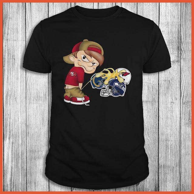 San Francisco 49ers Piss On The Seahawks, Cardinals, Rams Shirt