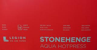 STONEHENGE AQUA HOTPRESS