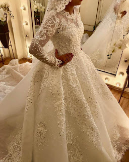 مجموعة من افخم فساتين زفاف مصمم الازياء احمد المتبولى