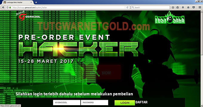 Website Gemscool Terkena Hack - Deface?