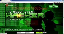 Website Gemscool Terkena Hack - Deface?