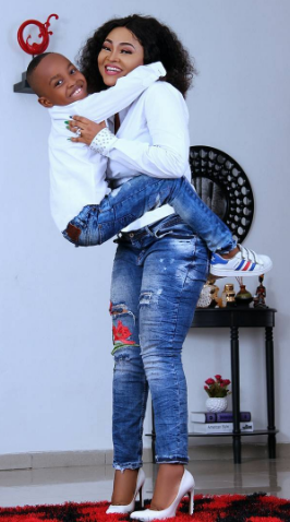 Actress Mercy Aigbe celebrates son at 7