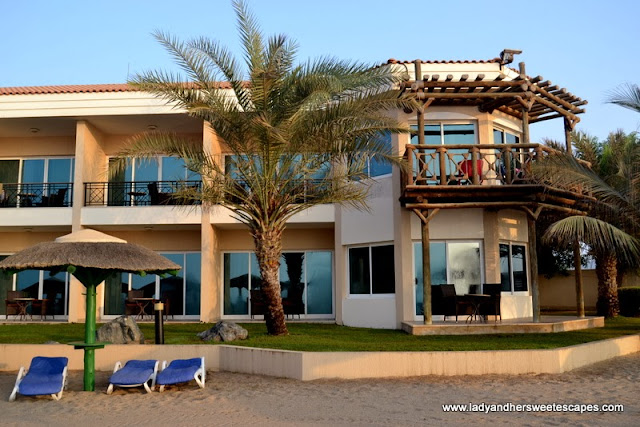 Fujairah Rotana Resort and Spa's beach-side rooms
