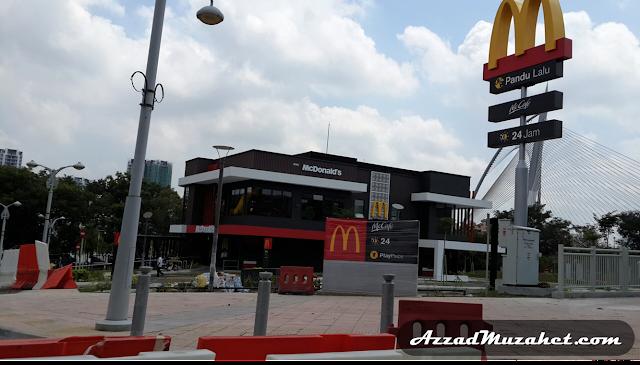 McDonald's 24jam Putrajaya Pandu Lalu