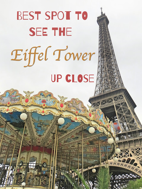 Best spots to see Eiffel Tower