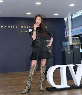 隋棠「錶」現時尚極簡美學風韻  為Daniel Wellington快閃店揭幕