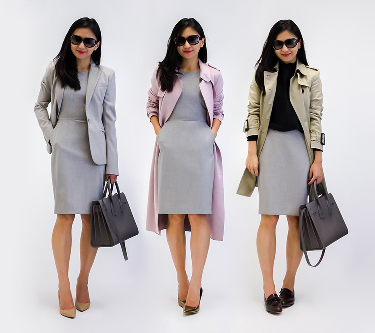 the work sheath j crew resumé dress three ways elle blogs