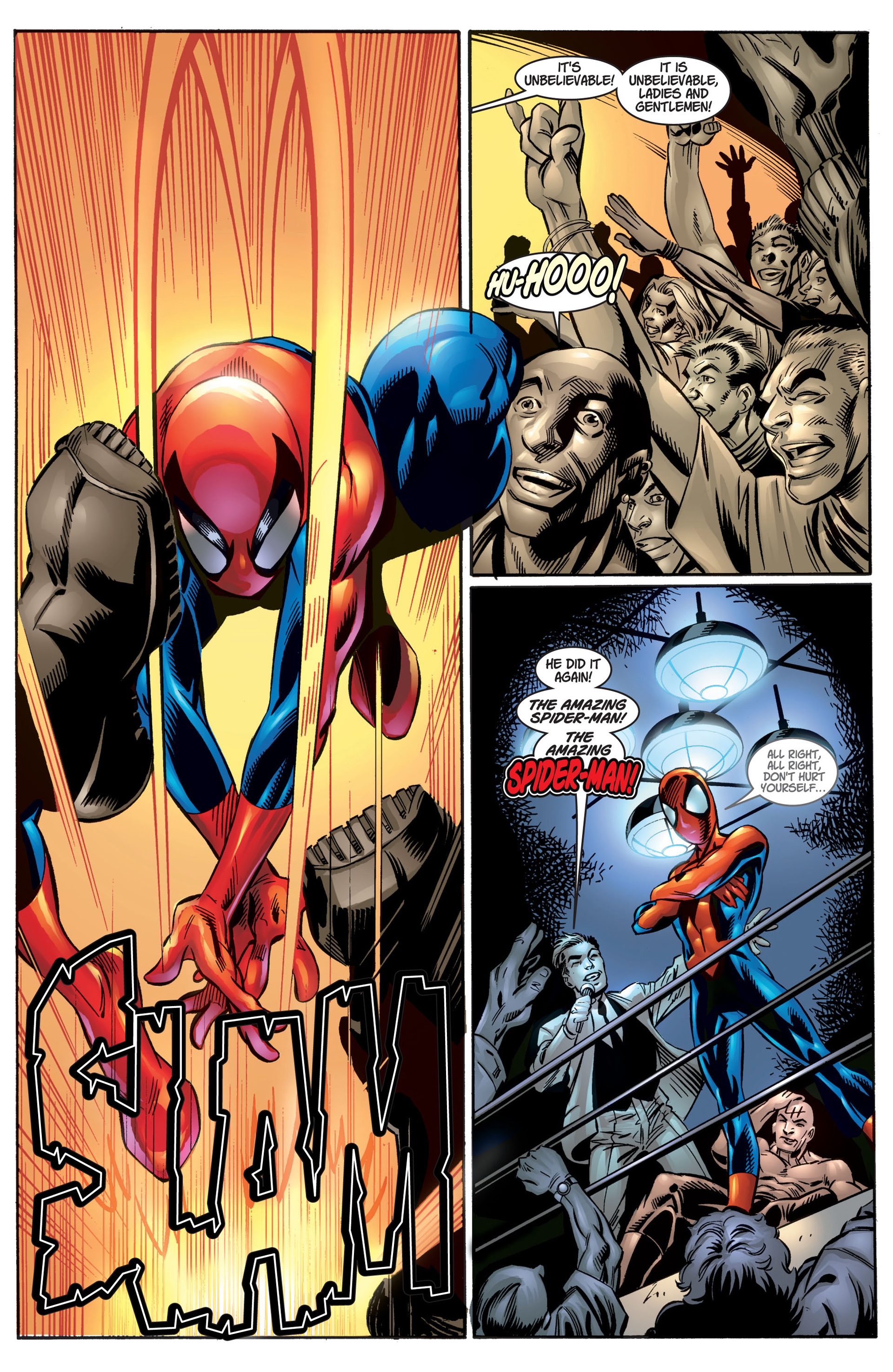 Read online Ultimate Spider-Man (2000) comic -  Issue #4 - 6