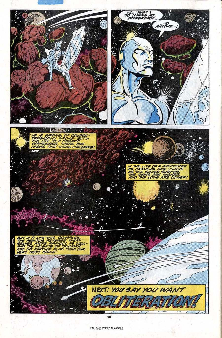Read online Silver Surfer (1987) comic -  Issue #20 - 32