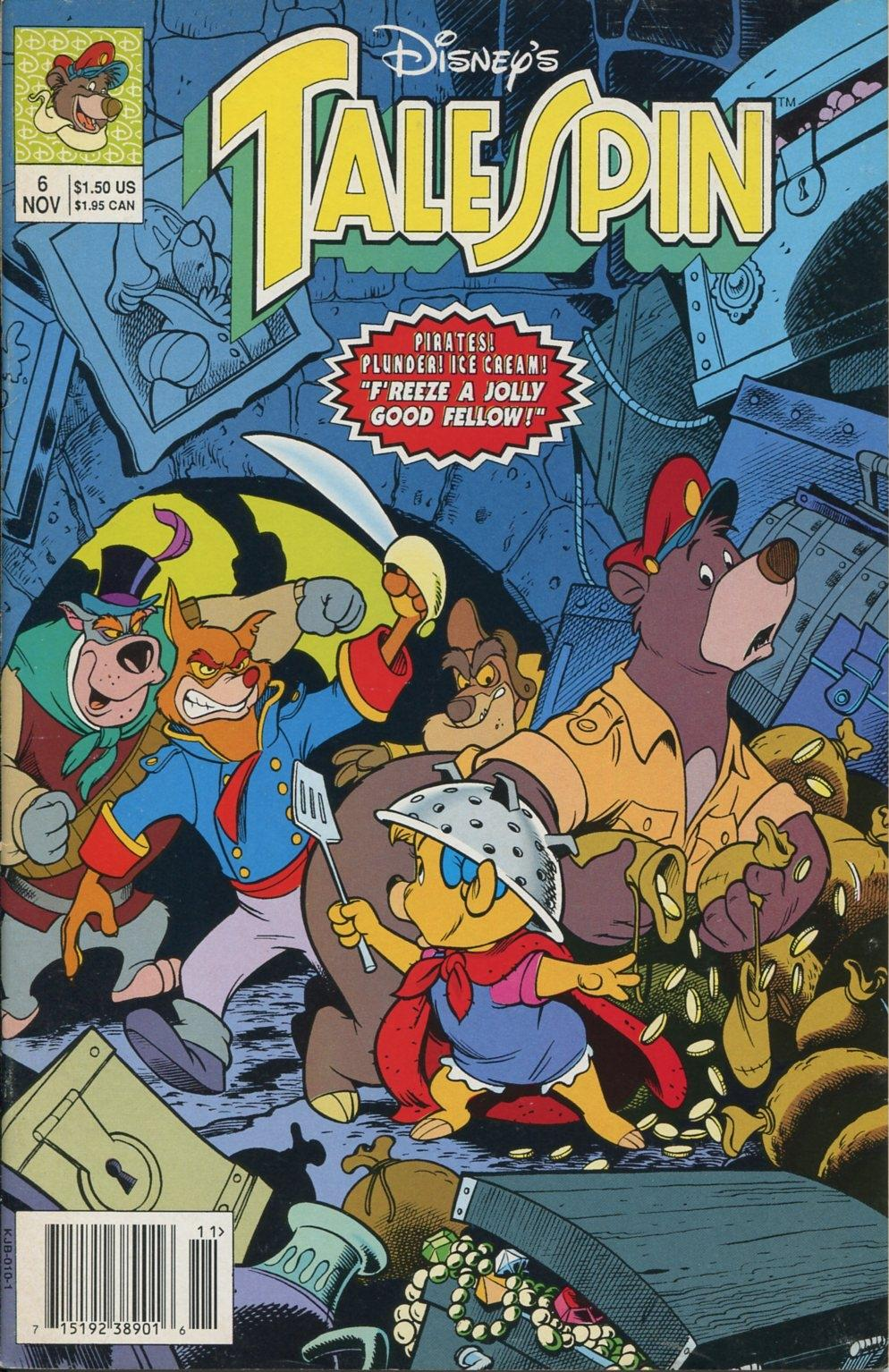 Read online Disney's Tale Spin comic -  Issue #6 - 1