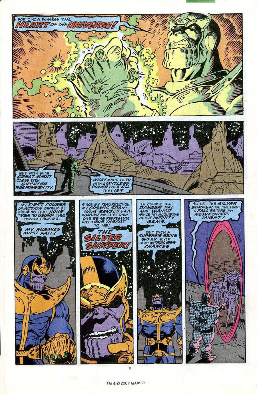 Read online Silver Surfer (1987) comic -  Issue #44 - 11
