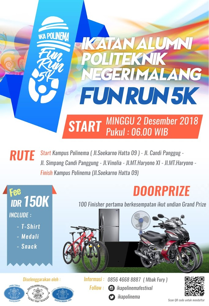 Fun Run Ika Polinema • 2018